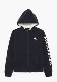 Abercrombie & Fitch - Fleecejas - navy - 0