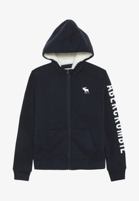 Abercrombie & Fitch - Fleecejas - navy - 3