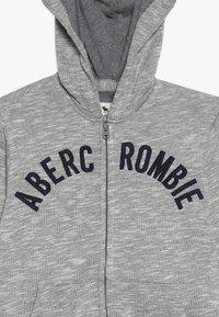 Abercrombie & Fitch - LOGO - Sweatjakke /Træningstrøjer - light grey - 3