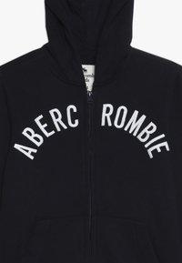 Abercrombie & Fitch - LOGO - Bluza rozpinana - navy - 3