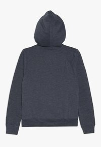 Abercrombie & Fitch - SHERPA  - Zip-up hoodie - textured navy - 1