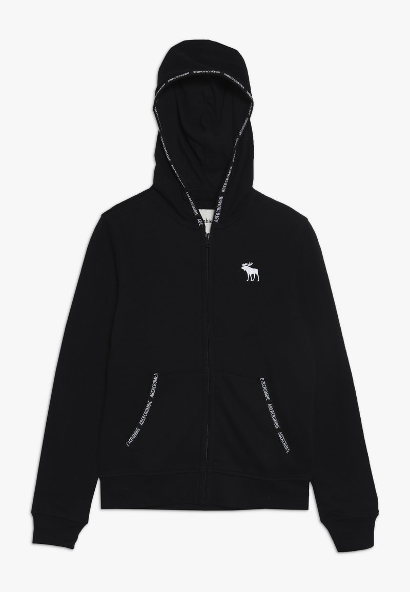 Abercrombie & Fitch - Zip-up hoodie - black