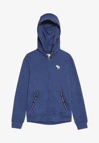 Abercrombie & Fitch - Felpa aperta - blue - 2