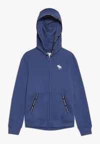 Abercrombie & Fitch - Felpa aperta - blue - 0