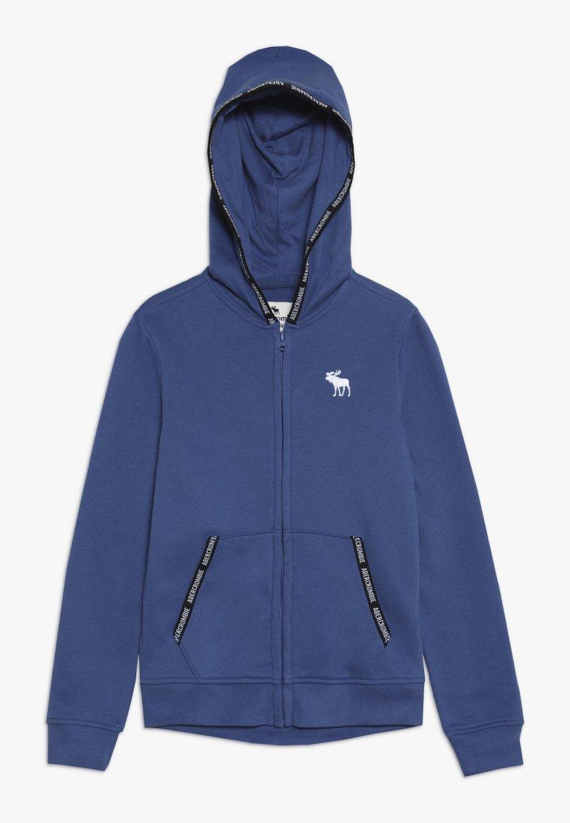 Abercrombie & Fitch - Felpa aperta - blue