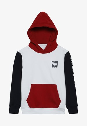 LOGO CORE - Hoodie - red/white/navy