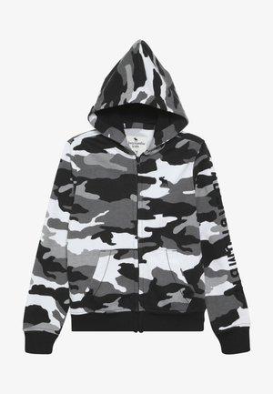 CORE  - Mikina na zip - black /white