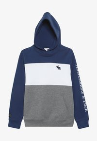 Abercrombie & Fitch - Hoodie - blue/grey - 3