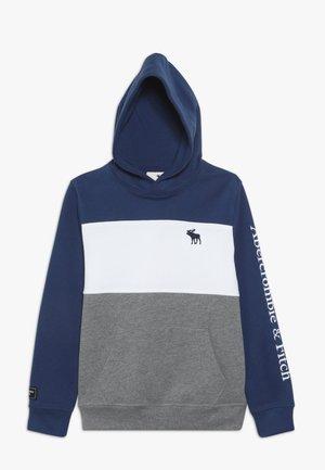 Hoodie - blue/grey