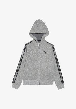 LOGO TAPE - Bluza rozpinana - grey
