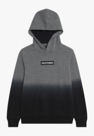 Hoodie - grey/black