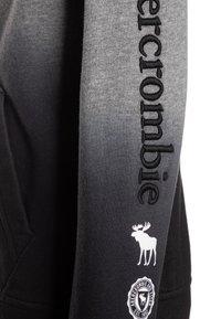 Abercrombie & Fitch - LOGO - Sweatjacke - grey/black - 3
