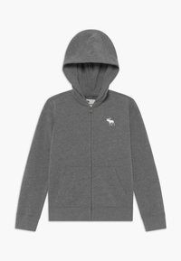 Abercrombie & Fitch - ICON  - Zip-up hoodie - grey - 0