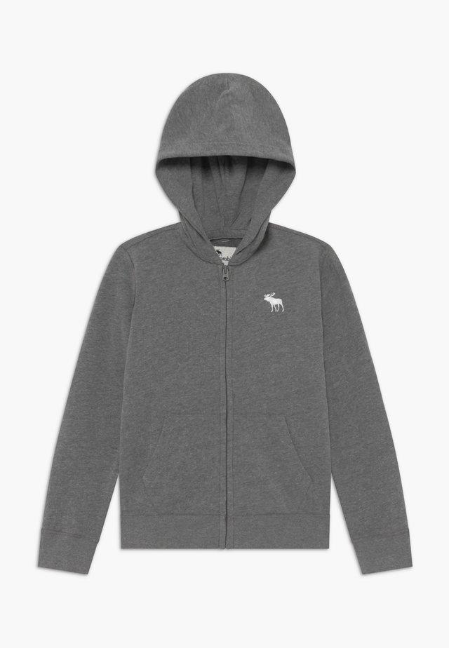 ICON  - veste en sweat zippée - grey