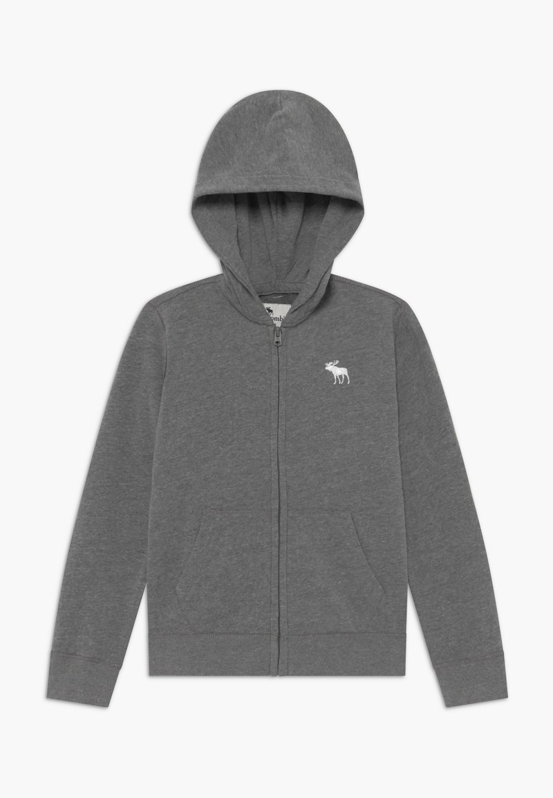 Abercrombie & Fitch - ICON  - Zip-up hoodie - grey