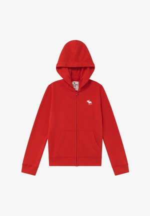 ICON  - veste en sweat zippée - red