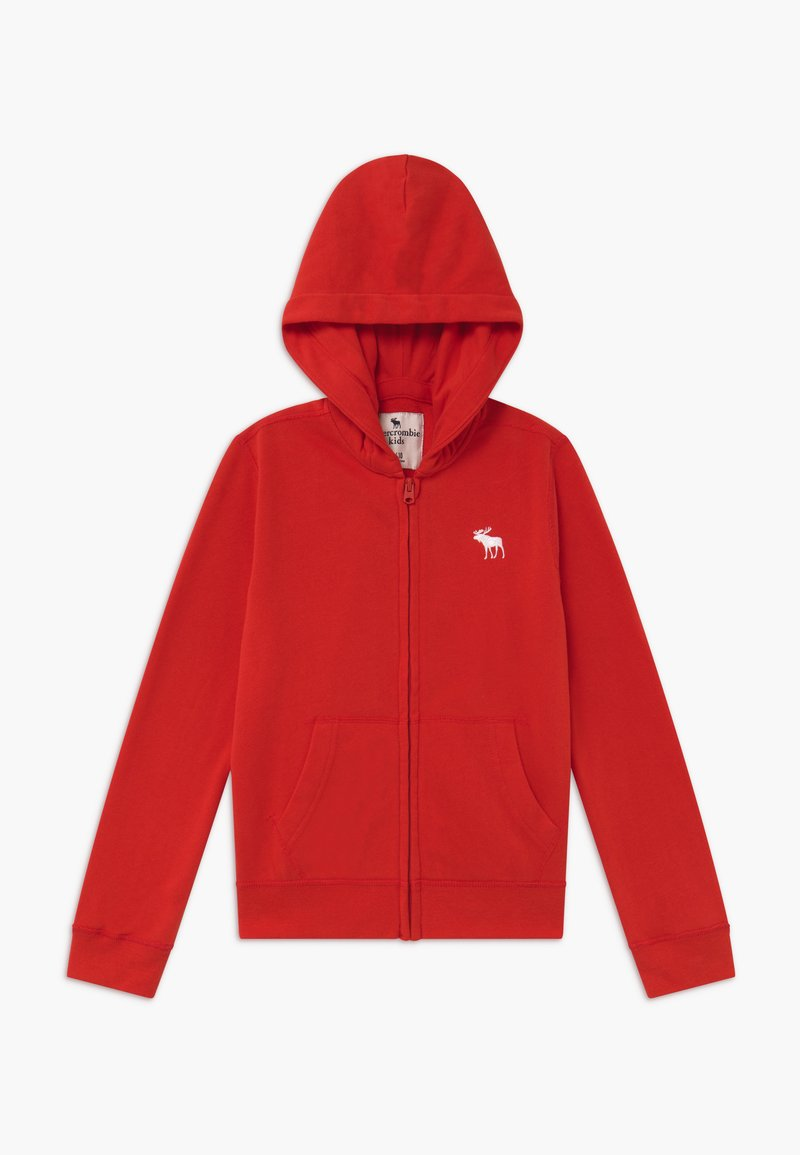 Abercrombie & Fitch - ICON  - Mikina na zip - red