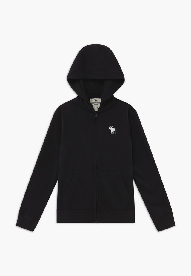 ICON  - Zip-up hoodie - black