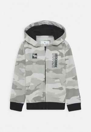 LOGO - Zip-up hoodie - grey