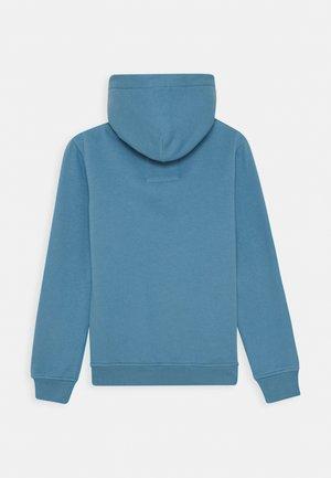 Hoodie - dusty blue