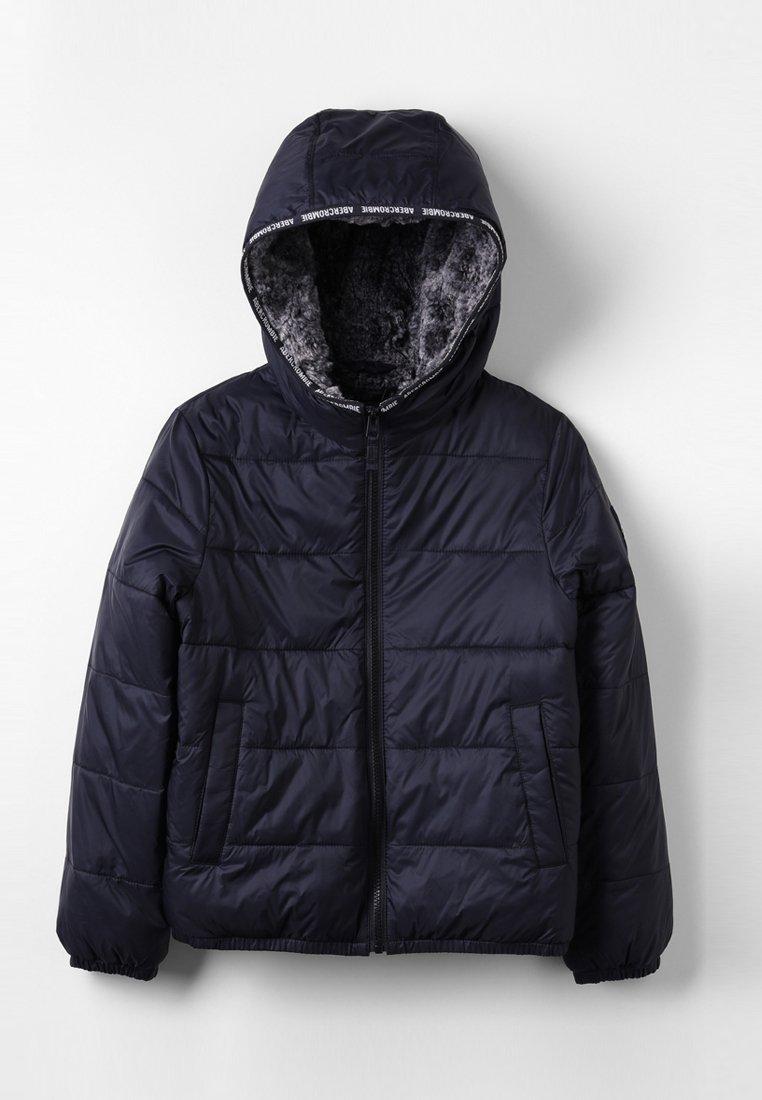 Abercrombie & Fitch - LOGO PUFFER - Winterjacke - black