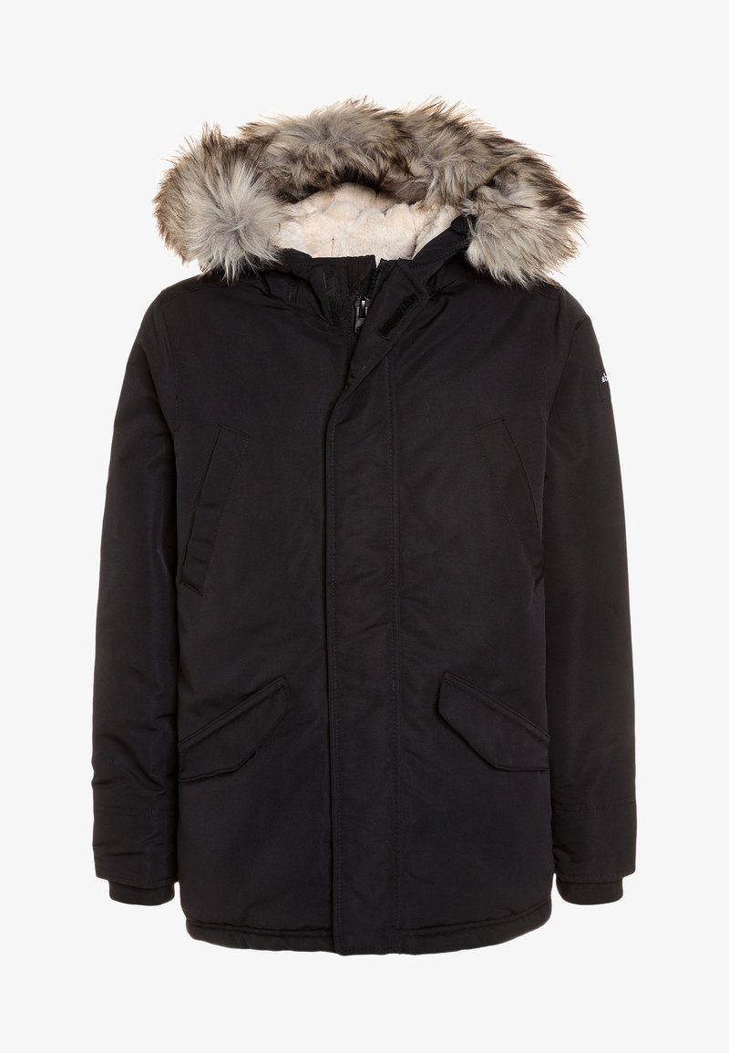 Abercrombie & Fitch - SOLID CORE - Veste d'hiver - black