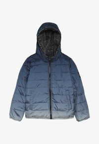 Abercrombie & Fitch - COZY PUFFER OMBRE  - Winterjas - blue - 2
