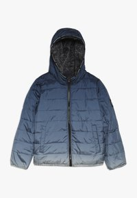 Abercrombie & Fitch - COZY PUFFER OMBRE  - Winterjas - blue - 0
