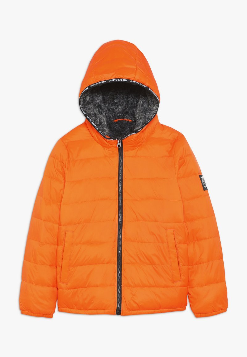Abercrombie & Fitch - COZY PUFFER - Winter jacket - orange