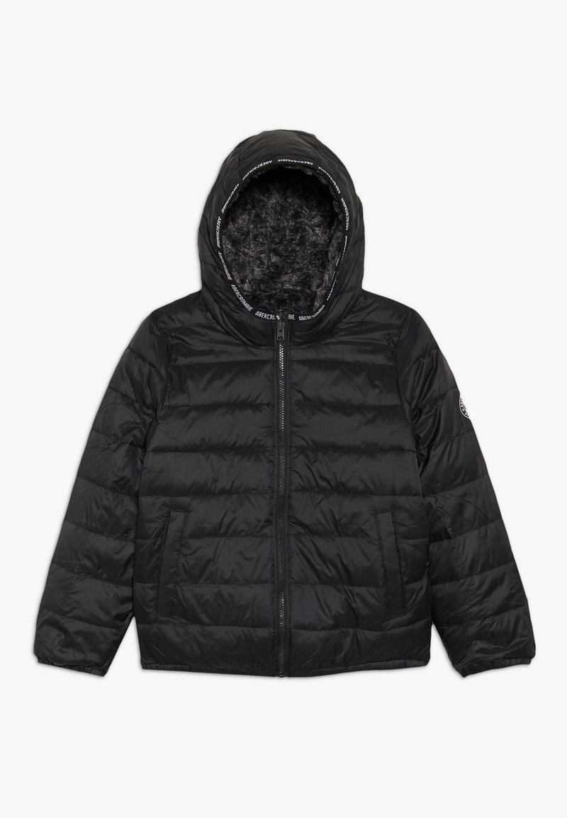Abercrombie & Fitch - COZY PUFFER - Winterjas - black