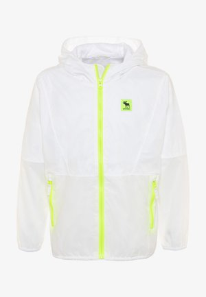 Training jacket - clear/neon