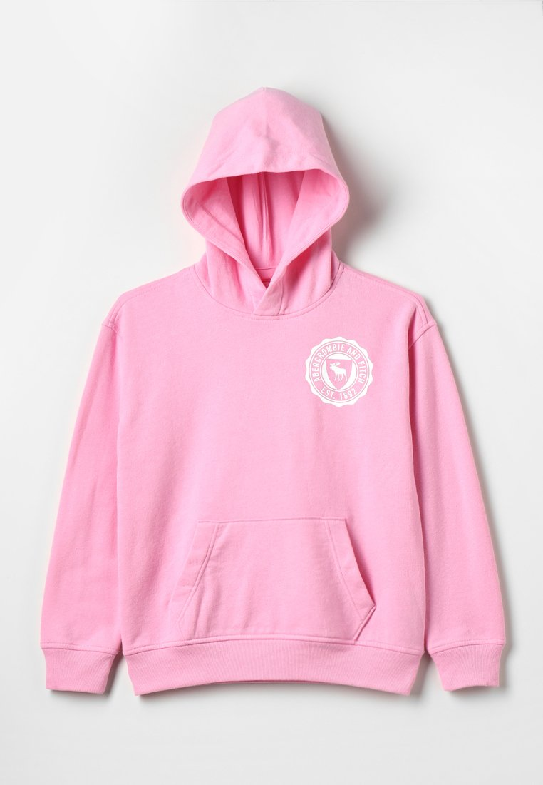 Abercrombie & Fitch - EVERYBODY - Hoodie - pink solid