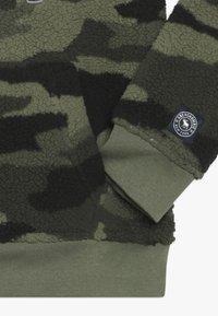 Abercrombie & Fitch - LOGO  - Bluza z kapturem - khaki - 2