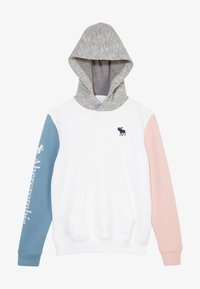 Abercrombie & Fitch - Mikina - white/blue pink - 3