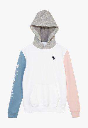 Mikina - white/blue pink