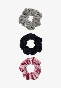 Abercrombie & Fitch - 3 PACK - Hårstyling-accessories - pink/black/grey - 1
