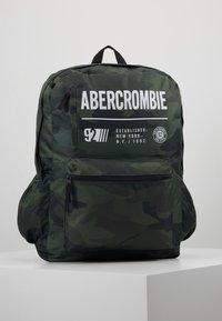 Abercrombie & Fitch - LOGO BACKPACK - Rugzak - khaki - 0