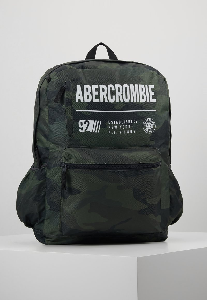 Abercrombie & Fitch - LOGO BACKPACK - Rucksack - khaki
