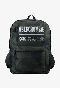 Abercrombie & Fitch - LOGO BACKPACK - Rygsække - khaki - 1