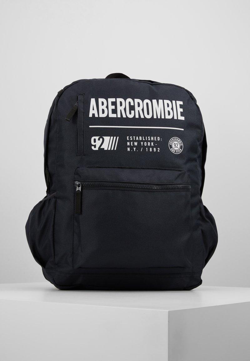 Abercrombie & Fitch - LOGO BACKPACK - Rygsække - black