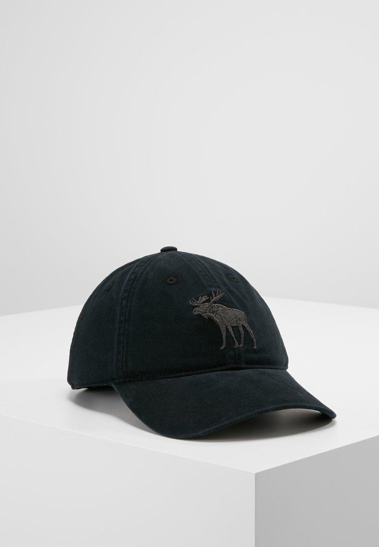 Abercrombie & Fitch - BASEBALL HAT - Pet - black