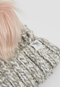 Abercrombie & Fitch - POM BEANIES - Čepice - grey/pink - 2