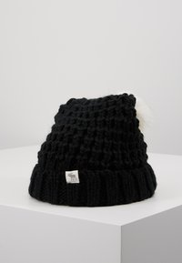 Abercrombie & Fitch - POM BEANIES - Muts - black/white - 0