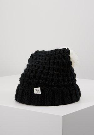 POM BEANIES - Muts - black/white