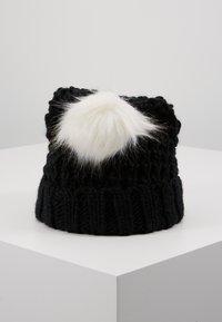 Abercrombie & Fitch - POM BEANIES - Mütze - black/white - 3