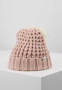 Abercrombie & Fitch - POM BEANIES - Muts - pink/white - 0