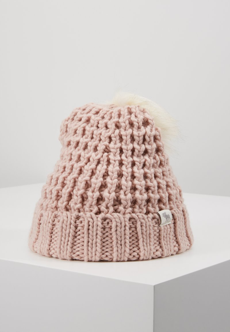 Abercrombie & Fitch - POM BEANIES - Muts - pink/white