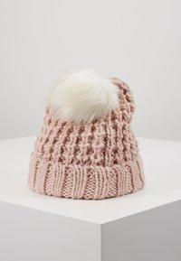 Abercrombie & Fitch - POM BEANIES - Gorro - pink/white - 3