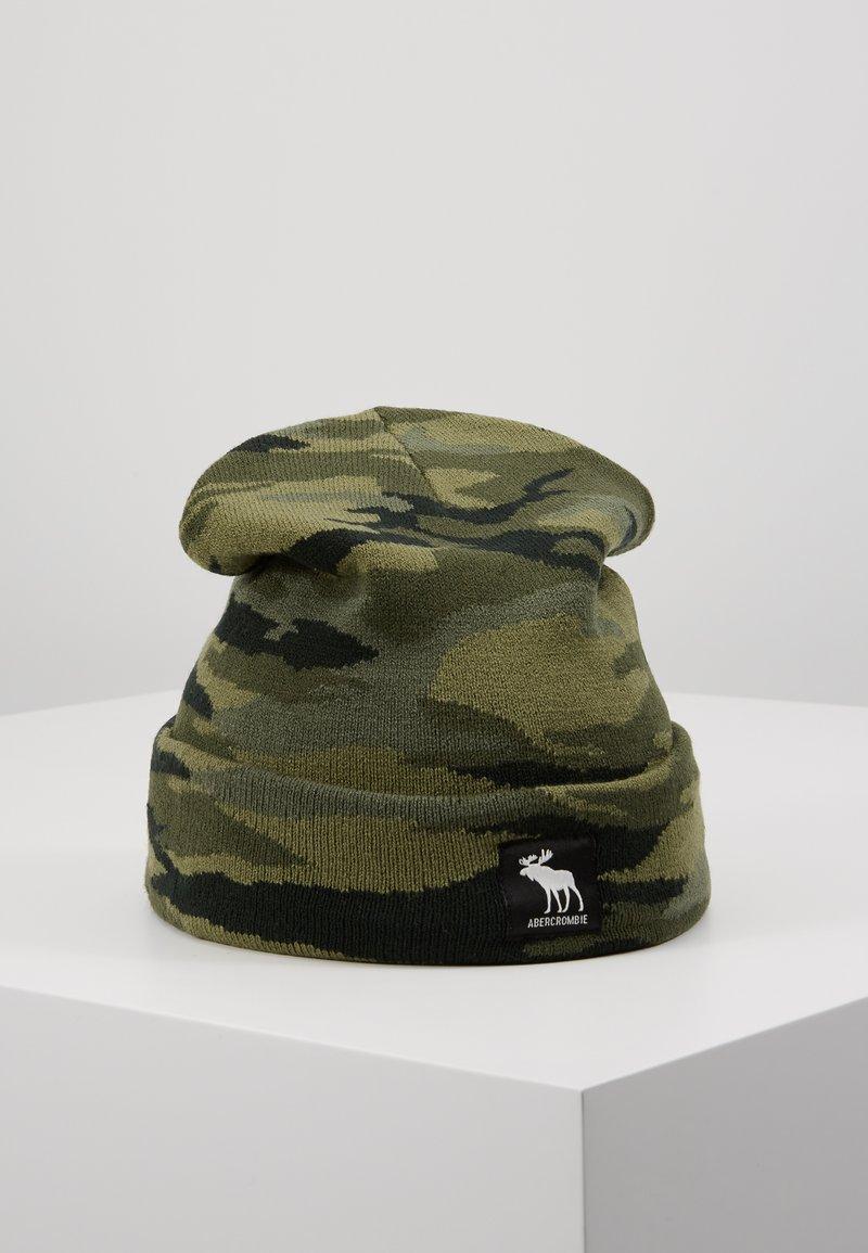 Abercrombie & Fitch - CHAIN BEANIE - Mössa - khaki