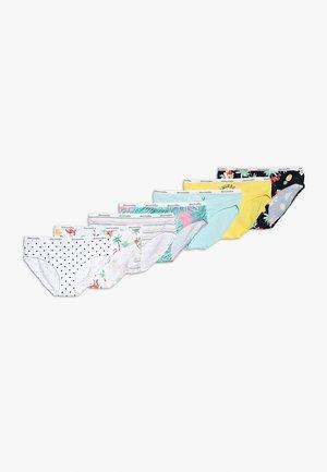 UNDIES 7 PACK - Slip - multi-coloured